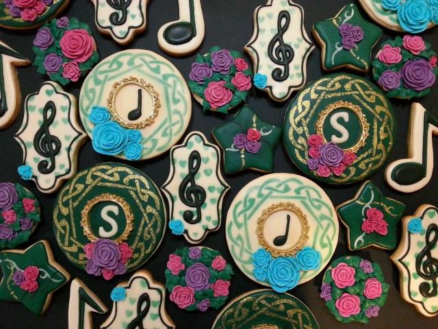 Celtic music cookies