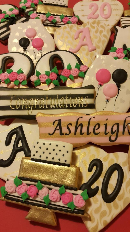 Ashleigh turned 20