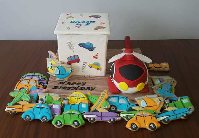 201807 Helicopter and toy box