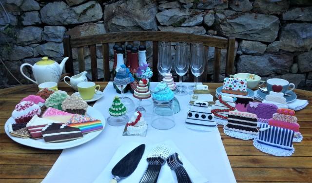 Cookie cake buffet